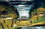 Пиросмани «друзья бегоса» описание картины, анализ, сочинение