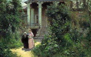 Поленов «бабушкин сад» описание картины, анализ, сочинение