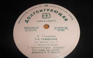 А. глазунов «симфония №1»: история, видео, интересные факты, слушать