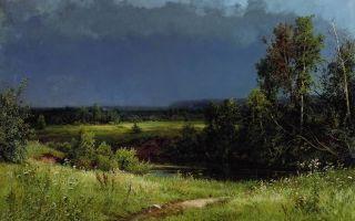 Васильев федор «перед грозой» описание картины, анализ, сочинение