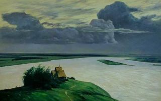 Левитан «над вечным покоем» описание картины, анализ, сочинение