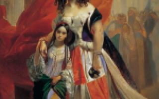 Брюллов «вирсавия» описание картины, анализ, сочинение