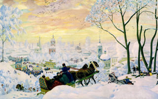 Кустодиев борис «масленица» описание картины, анализ, сочинение