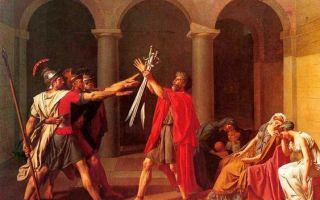 Давид жак луи «бой марса и минервы» описание картины, анализ, сочинение
