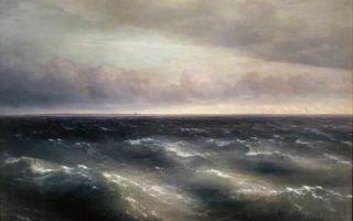 Айвазовский «черное море» описание картины, анализ, сочинение