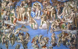 Буонарроти микеланджело «страшный суд» описание картины, анализ, сочинение