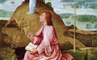 Босх «святой иоанн богослов на острове патмос» описание картины, анализ, сочинение
