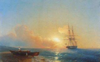 Айвазовский «рыбаки на берегу моря» описание картины, анализ, сочинение