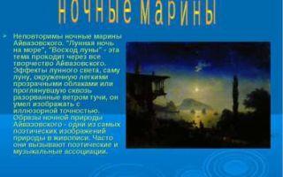 Айвазовский «пушкин на берегу черного моря» описание картины, анализ, сочинение