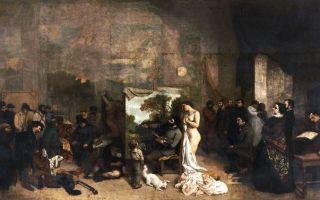 Курбе «похороны в орнане» описание картины, анализ, сочинение
