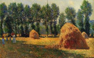 Моне клод «стог сена в живерни» описание картины, анализ, сочинение