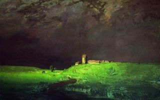 Куинджи архип «вечер на украине» описание картины, анализ, сочинение
