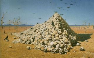Верещагин «апофеоз войны» описание картины, анализ, сочинение