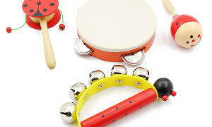 Музыкальные инструменты для самых маленьких