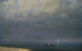 Куинджи архип «ладожское озеро» описание картины, анализ, сочинение