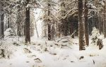 Шишкин иван «зима» описание картины, анализ, сочинение