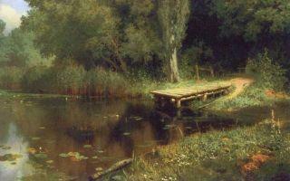 Поленов «клязьма. жуковка» описание картины, анализ, сочинение