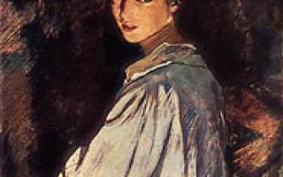 Серебрякова зинаида «беление холста» описание картины, анализ, сочинение