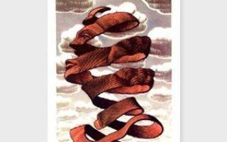 "Эшер мауриц ""водопад"" описание картины, анализ, сочинение"