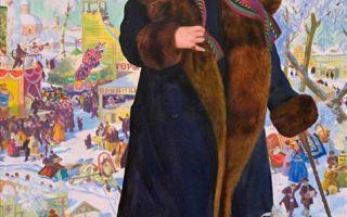 """Кустодиев борис """"портрет ф.и. шаляпина"""" описание картины, анализ, сочинение"""