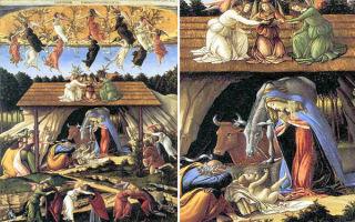 Боттичелли «венера и марс» описание картины, анализ, сочинение