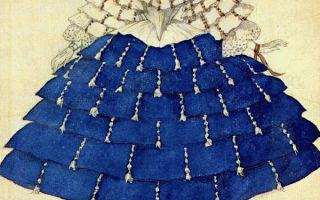 Бакст «портрет будущей графини анри де буажелен» описание картины, анализ, сочинение