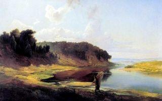 Саврасов алексей «плоты» описание картины, анализ, сочинение