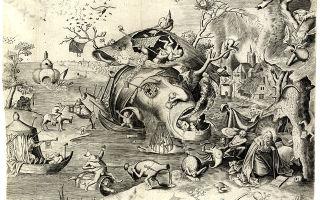 Брейгель «триумф смерти» описание картины, анализ, сочинение