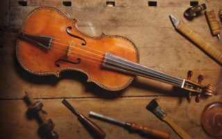 Легенда о скрипичном мастере