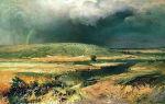 Васильев «волжские лагуны» описание картины, анализ, сочинение