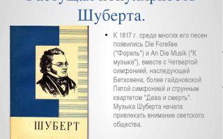 Ф. шуберт «форель»: история, содержание, интересные факты
