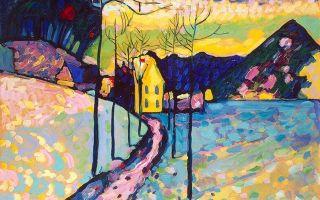 Кандинский василий «синий всадник» описание картины, анализ, сочинение
