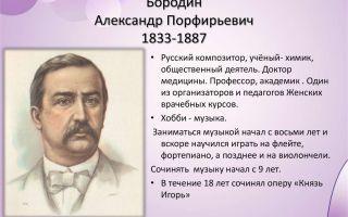 Александр бородин: биография, интересные факты, творчество, видео