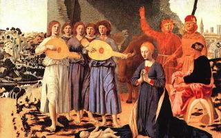 Альтдорфер «рождество христово» описание картины, анализ, сочинение