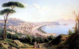 Айвазовский «неаполитанский залив утром» описание картины, анализ, сочинение