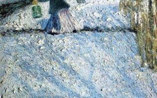 Грабарь «мартовский снег» описание картины, анализ, сочинение
