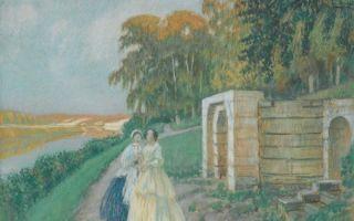 Борисов-мусатов «весна» описание картины, анализ, сочинение