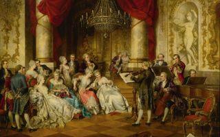 Путешествие от эпохи средневековья до барокко