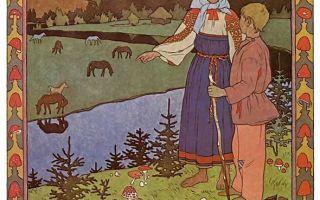 """Билибин """"сказка о царе салтане"""" описание картины, анализ, сочинение"""