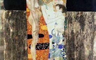 Климт густав «три возраста женщины» описание картины, анализ, сочинение