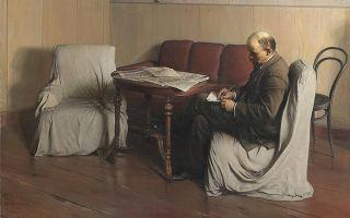 Бродский исаак «ленин в смольном» описание картины, анализ, сочинение