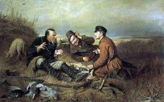 Перов василий «охотники на привале» описание картины, анализ, сочинение