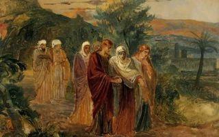 Ге «возвращение с погребения христа» описание картины, анализ, сочинение