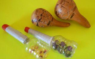 Домашние мастер классы по изготовлению ударных инструментов
