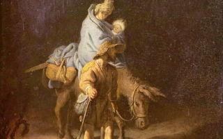 Пуссен «бегство в египет» описание картины, анализ, сочинение