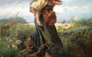 Маковский «дети, бегущие от грозы» описание картины, анализ, сочинение