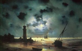 Айвазовский «автопортрет» описание картины, анализ, сочинение