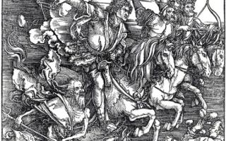 """Дюрер альбрехт """"четыре всадника апокалипсиса"""" описание картины, анализ, сочинение"""