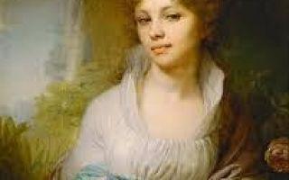 Боровиковский «портрет м.и. лопухиной» описание картины, анализ, сочинение