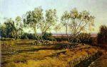 Иванов «оливы у кладбища в альбано. молодой месяц» описание картины, анализ, сочинение